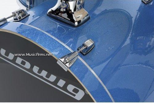 ludwig Element Evo Blue Sparkle zoom ขายราคาพิเศษ