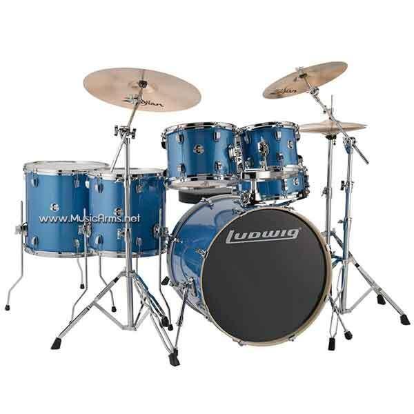 ludwig Element Evo Blue Sparkle ขายราคาพิเศษ