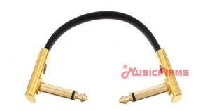 สายแจ็ค RockBoard Flat Patch Cable Gold 10 CM