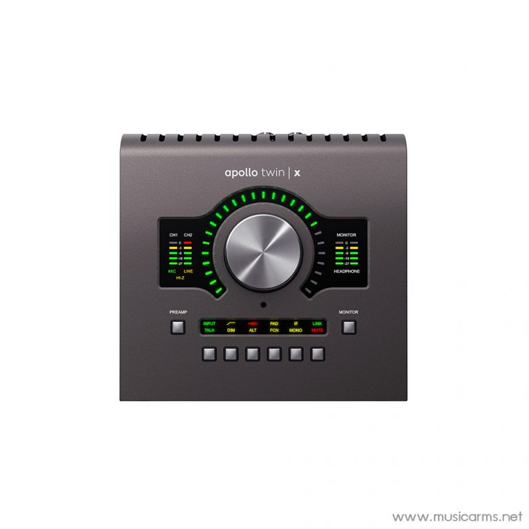 Face cover Universal-Audio-Apollo-Twin-X-DUO-Heritage-Edition ขายราคาพิเศษ