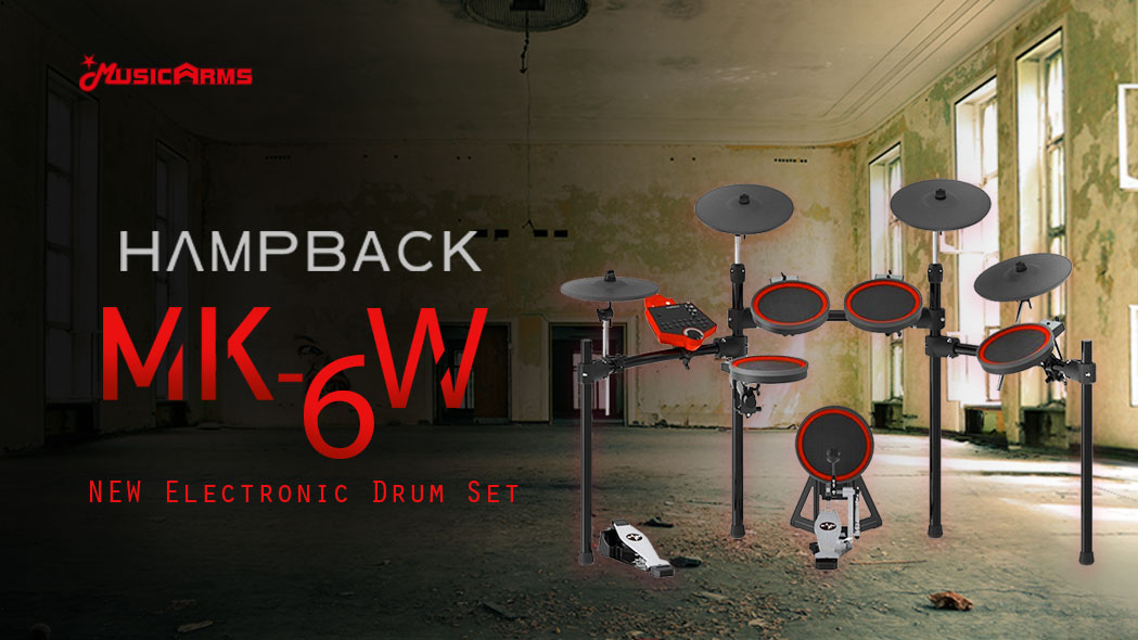 กลองไฟฟ้า Hampback MK-6W