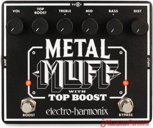 Metal Muff With Top Boost หน้า