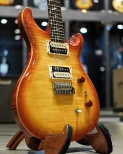 PRS SE Custom 24 2021 Vintage Sunburst SOUND BOARD