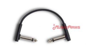 RockBoard Flat Patch Cable Black 10 CM