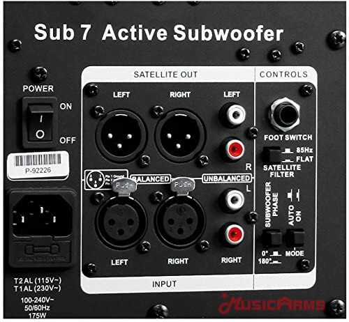 Sub7 Active Subwoofer ที่เสียบ ขายราคาพิเศษ