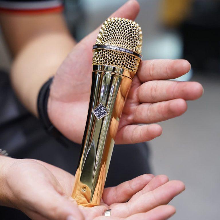 Showcase ไมโครโฟน Telefunken M81
