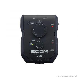 Face cover Zoom-U-22-Audio-Interface
