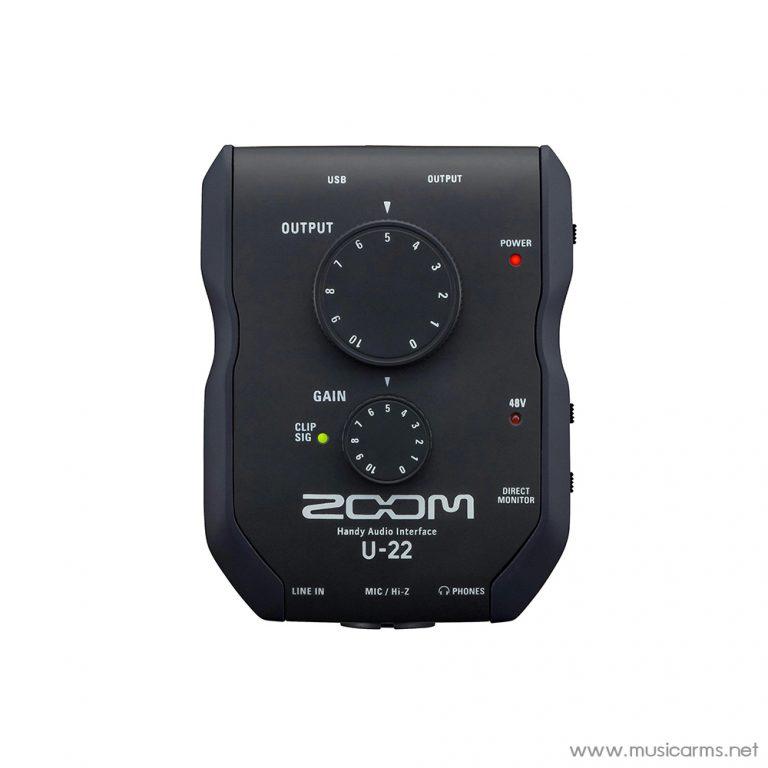 Face cover Zoom-U-22-Audio-Interface ขายราคาพิเศษ