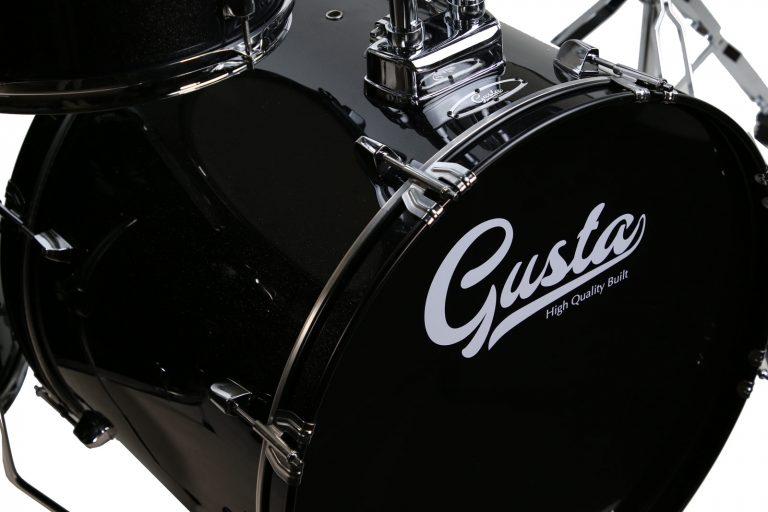Gusta-First-touring-สีดำ bass drum ขายราคาพิเศษ