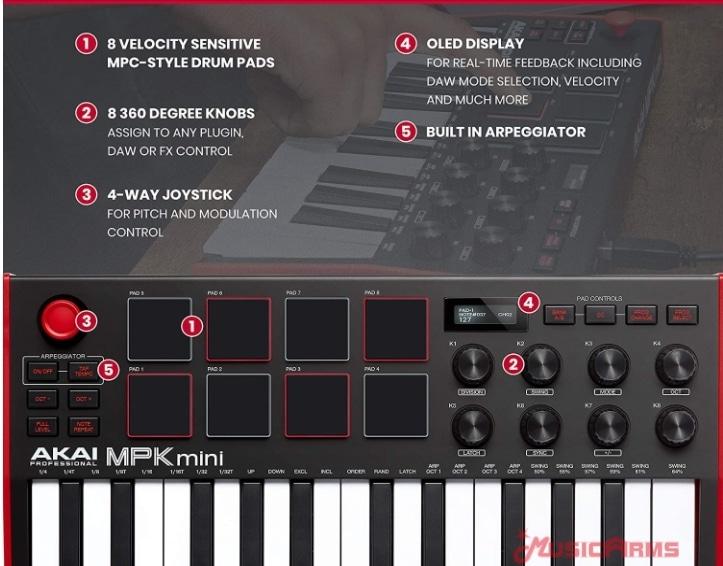 Akai-MPK-Mini-mk3- ขายราคาพิเศษ