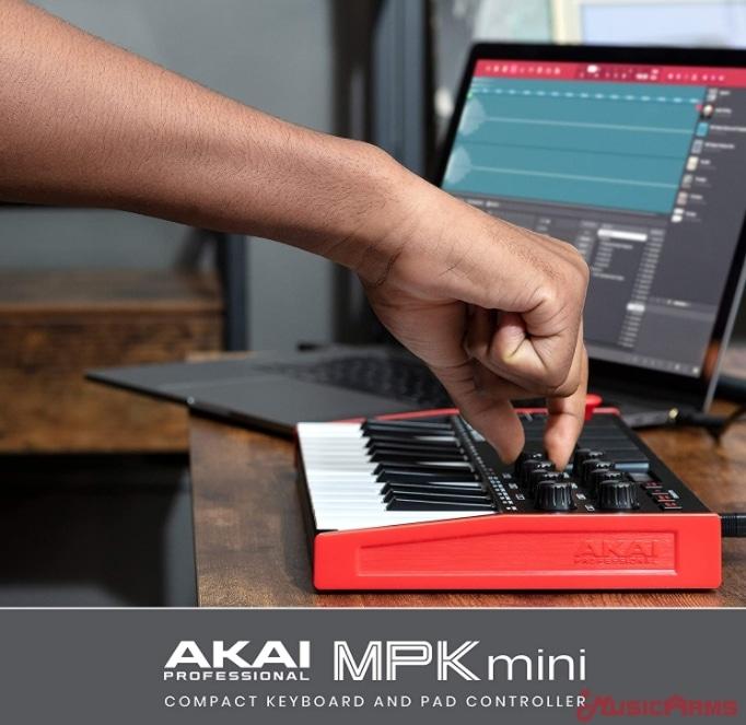 Akai-MPK-Mini-mk3-8-knobs ขายราคาพิเศษ