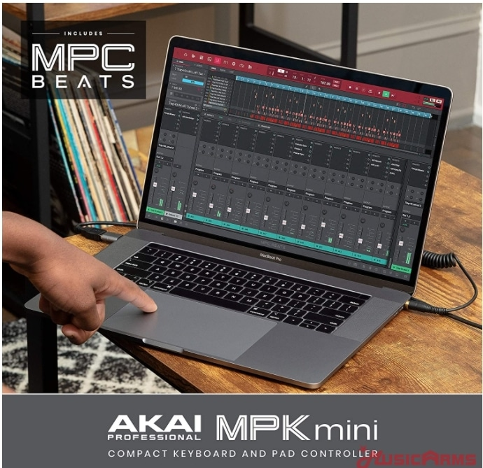 Akai-MPK-Mini-mk3-include-software ขายราคาพิเศษ