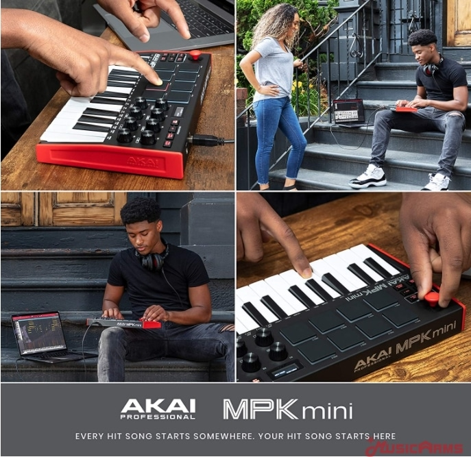 Akai-MPK-Mini-mk3-usb-midi ขายราคาพิเศษ