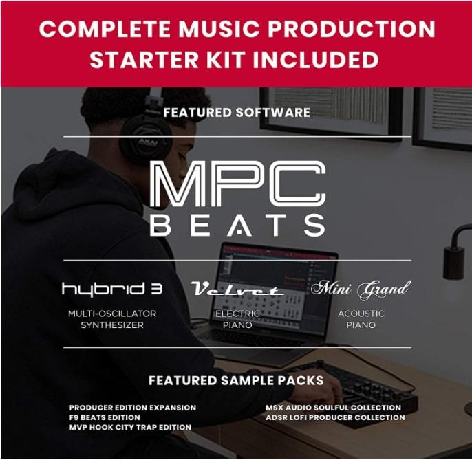 Akai-MPK-mini-mk3-Balck-MPC-Beats ขายราคาพิเศษ