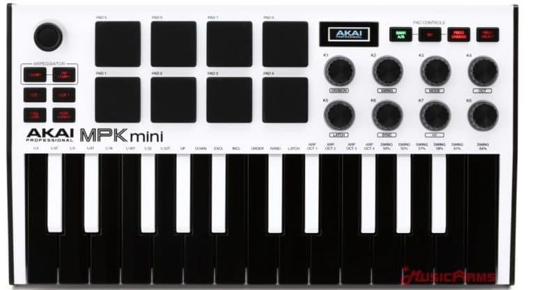 Akai-MPK-mini-white-25- ขายราคาพิเศษ