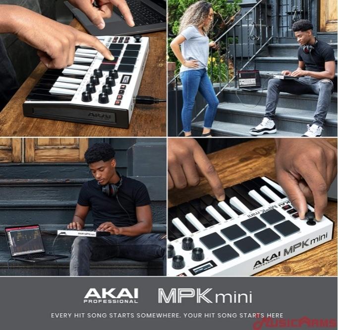 Akai-MPK-mini-white ขายราคาพิเศษ