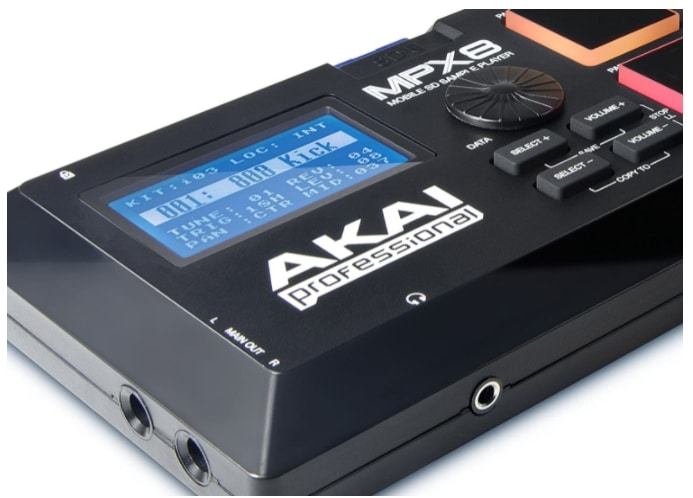 Akai-MPX8-display ขายราคาพิเศษ