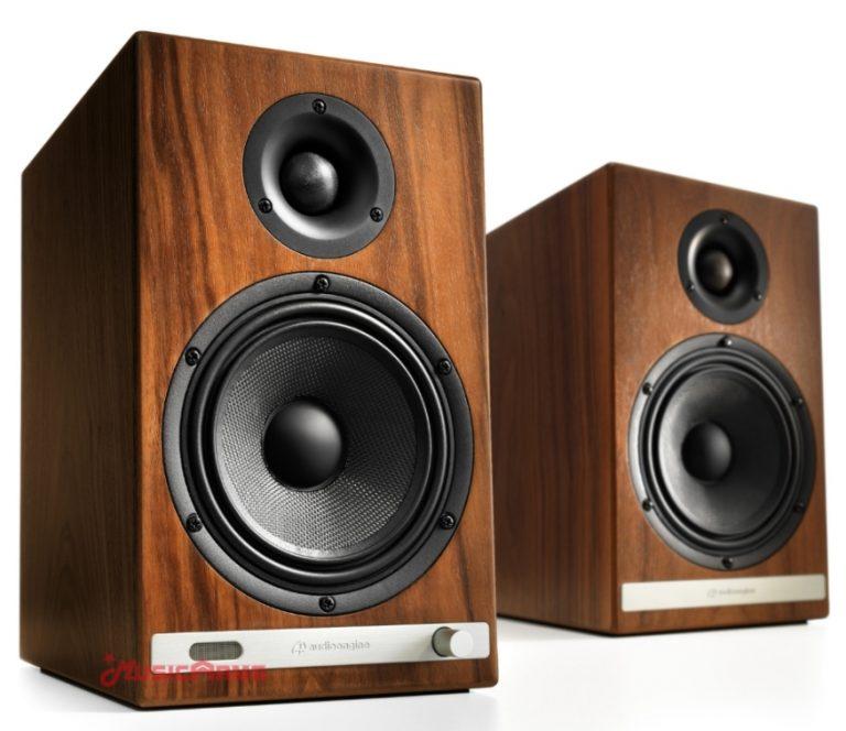 Audioengine HD6-walnut-back ขายราคาพิเศษ