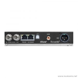 Face cover Focusrite-ISA-One-A-D-Card