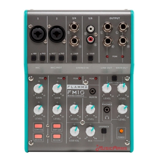 Flamma-FM10-mixing-console ขายราคาพิเศษ