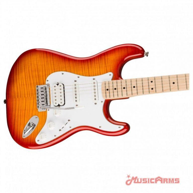 Squier Affinity Stratocaster FMT HSS MN Close up Body ขายราคาพิเศษ