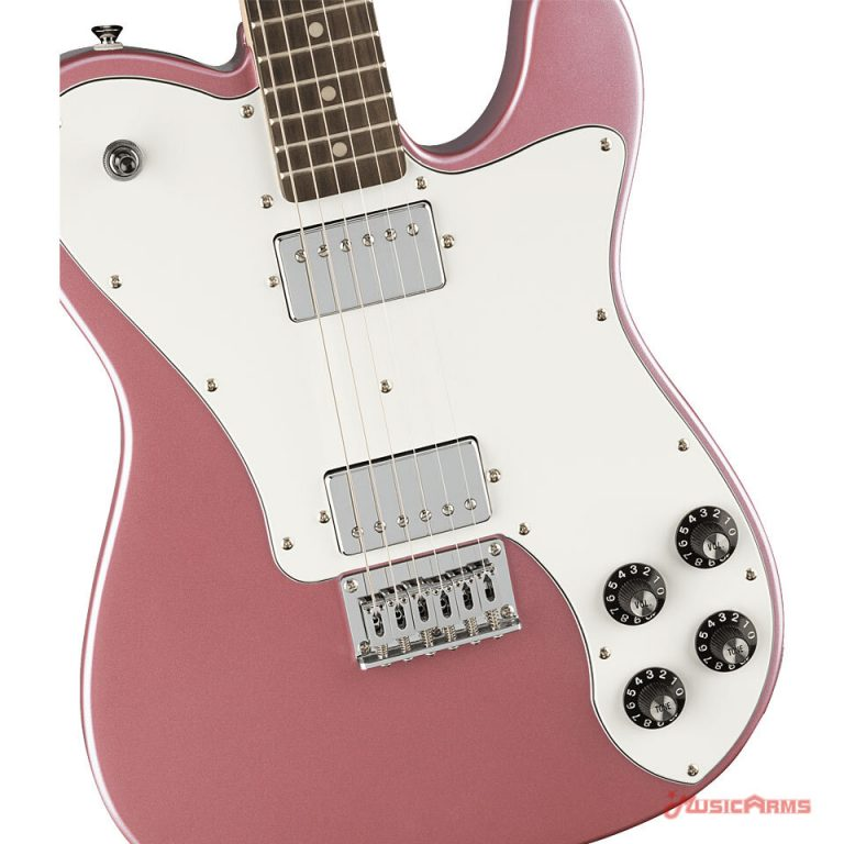 Squier Affinity Telecaster Deluxe LRL Close up Body ขายราคาพิเศษ