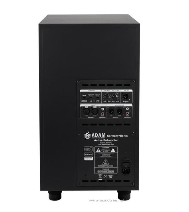 ADAM-Audio-Sub10-Mk2-Back ขายราคาพิเศษ