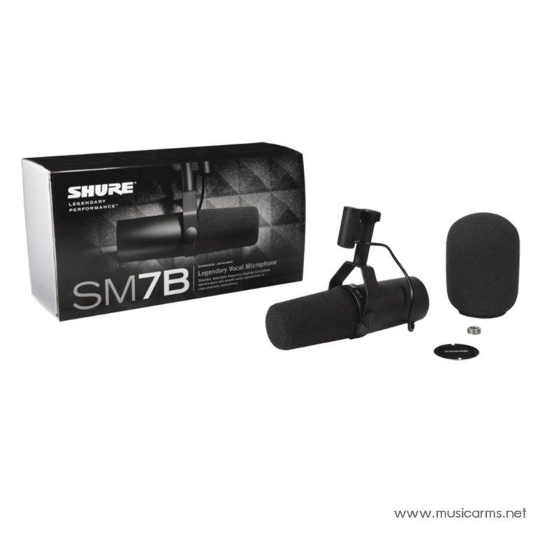 ไมโครโฟน Shure SM7B ขายราคาพิเศษ
