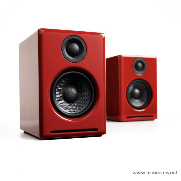 Audioengine A2+ Wireless สีแดง ขายราคาพิเศษ