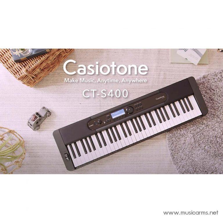 Casio CT-S400 Keyboard ขายราคาพิเศษ