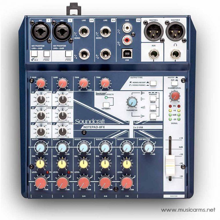 Soundcraft Notepad 8FX ขายราคาพิเศษ