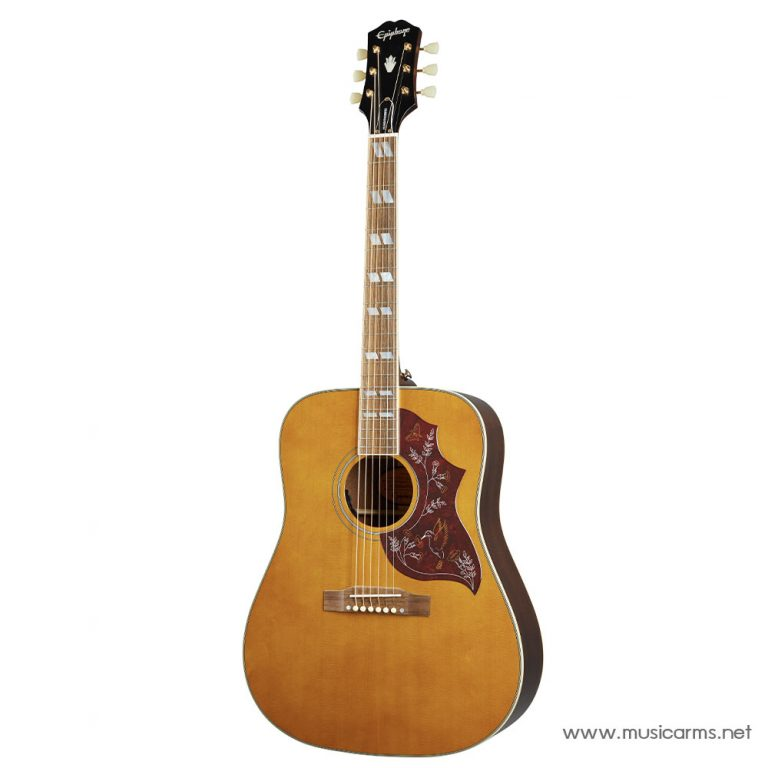 Epiphone Inspired by Gibson Hummingbird Aged Antique Natural Gloss ขายราคาพิเศษ