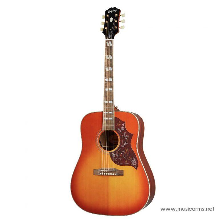 Epiphone Inspired by Gibson Hummingbird Aged Cherry Sunburst Gloss ขายราคาพิเศษ