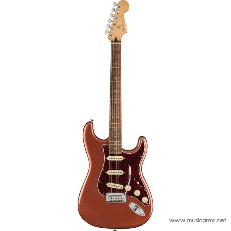 Fender Player Plus Stratocaster Aged Candy Apple Red ขายราคาพิเศษ